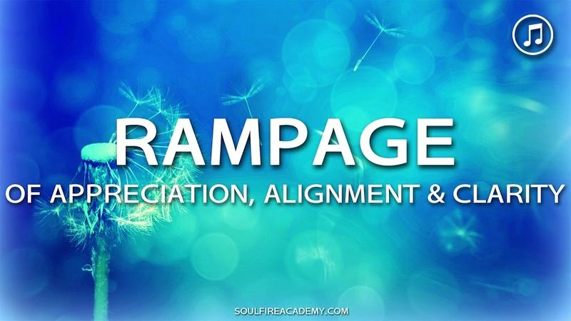 Abraham Hicks - RAMPAGE of Appreciation, Alignment Clarity (Music Binaural beats)
