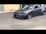 Enrico`s Sartori Demon drift car being tested for the first time