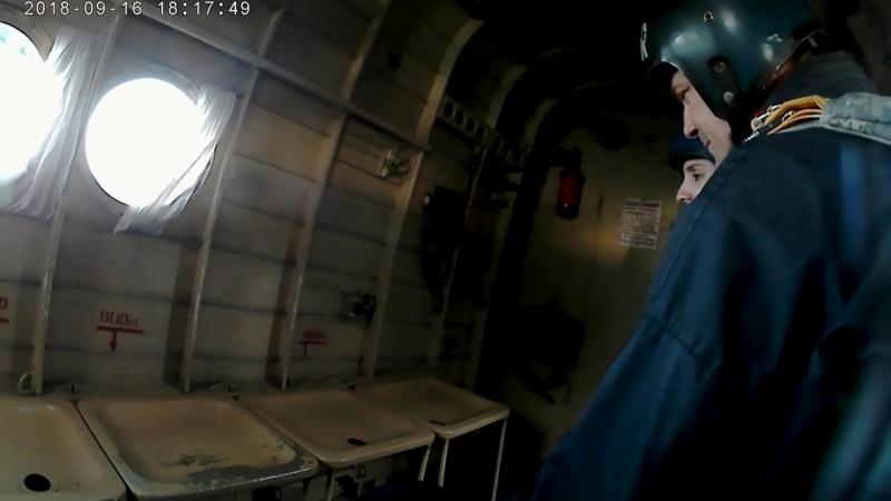 Мій третій стрибок з парашутом типу Крило,по програмі StaticLine з висоти 1200м-1350м