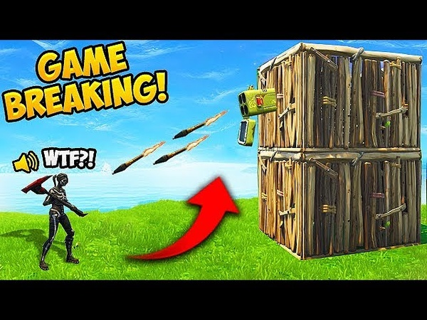 *NEW* GAME BREAKING EXPLOIT! - Fortnite Funny Fails and WTF Moments! 353