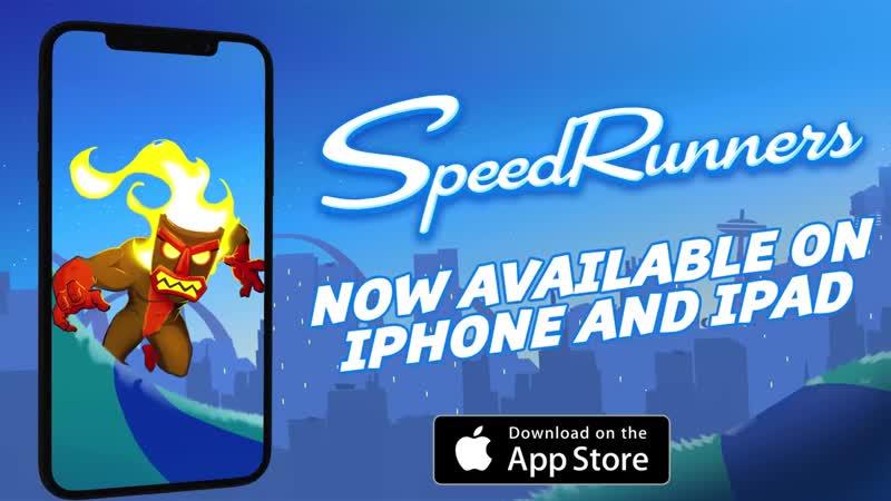 Релизный трейлер игры SpeedRunners для iOS!