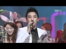 Mutizen song - Seungri (뮤티즌송-승리) @SBS Inkigayo 인기가요 20110213