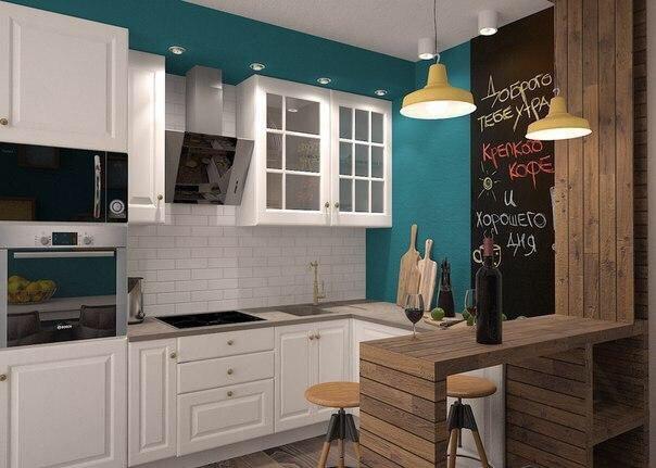 Проект интерьера для небольшой квартиры