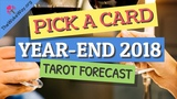PICK A CARD YEAR-END 2018 How's 2018 Been and How Will it End Soulmate Twin Flame Love Tarot