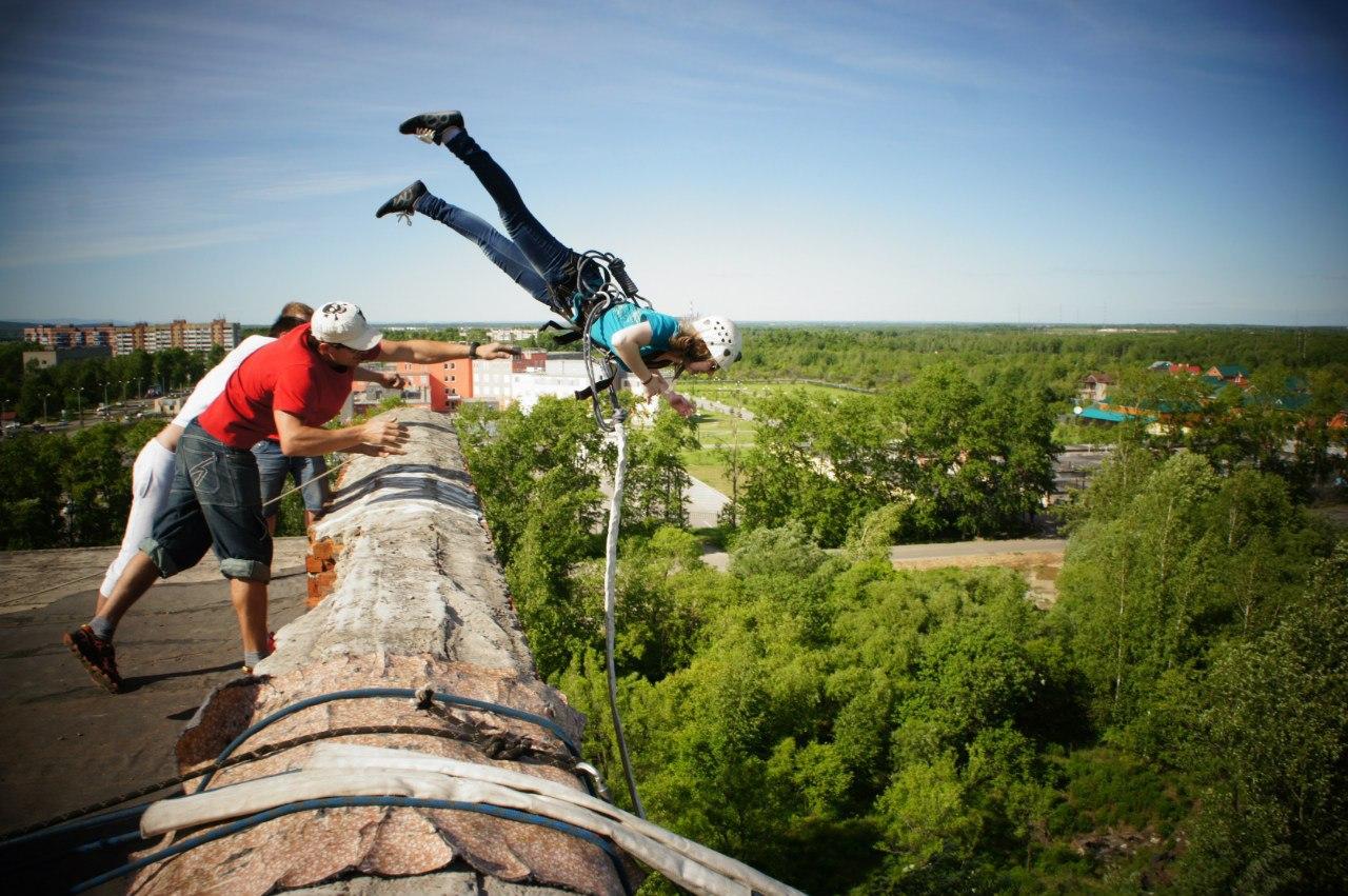 Афиша Хабаровск 08/10 Прыгаем с крыши Больничкм 23м! Акция 3+1
