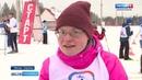 На лыжном стадионе в Малых Карелах прошла спартакиада по лыжным гонкам для особенных людей