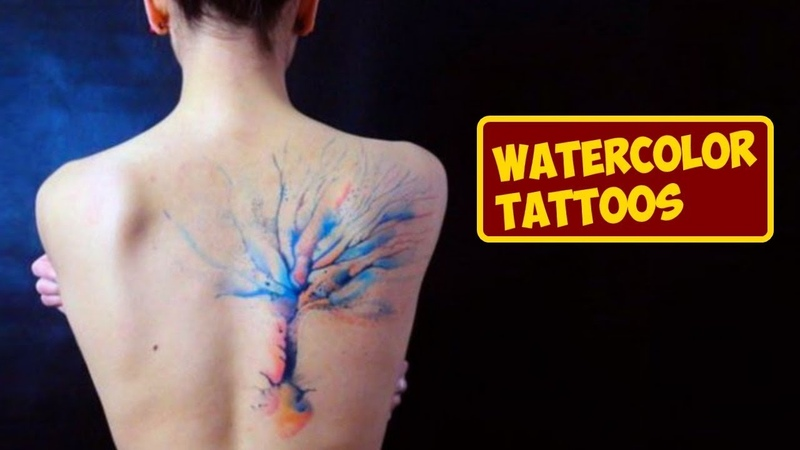 Eye-Catching Watercolor Tattoos That You Will Love