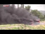 Славянск. Украинские военные взорвали две фуры со стройматериалами | 4 июня Сегодня Новости