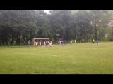 Гол Темирбекова Астемира на последней минуте матча, который спас команду от поражения))