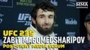 UFC 235 Забит Магомедшарипов после боя