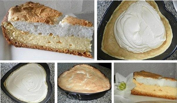 """Однажды мне рассказали про рецепт волшебного творожного пирога. Волшебство заключалось в том, что при его полном остывании на поверхности образуются желтенькие капельки-бусинки. За это простой пирог получил красивое название """";Слезы ангела"""";. Во что бы то ни стало я захотела его приготовить. Результат превзошел все мои ожидания!; Это ооочень вкусно, очень красиво и ещё очень волнительно.  Ингредиенты: - 1 ст муки."""