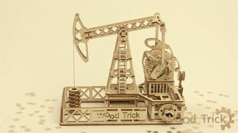 Wood trick. Review of model Oil derrick