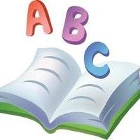 Школьная тема - вышивка крестиком - схема - тетрадка ABC.