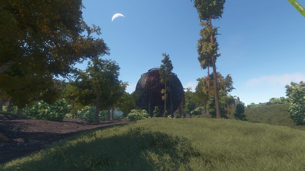 Скриншоты с монументами в рэдтауне