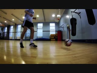 How to improve your first touch - using a wall!