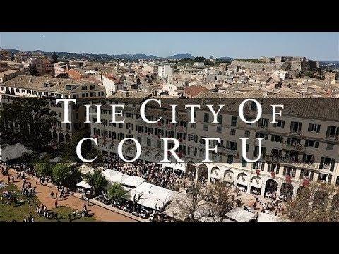 Η Πόλη της Κέρκυρας από ψηλά. Ή αρχόντισσα του Ιονίου ντυμένη στα γιορτινά της.