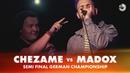 [ CHEZAME ] [ MADOX ] [ Wabbpost ] SEMI FINAL   German Beatbox Championship 2018