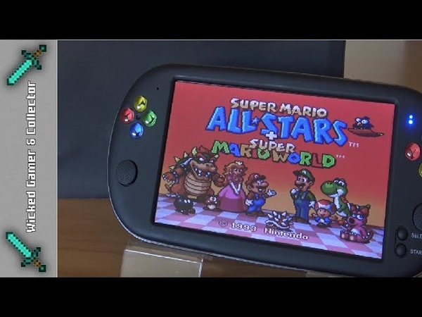 4=Next Generation 7inch X16 Handheld / SNES - SFC 16-bit / Extended Testing Video Review
