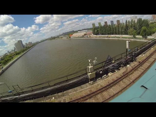 Повторили трюк Паши Бумчика. Классный вид на Москву реку. Спасли не пунктуальных...