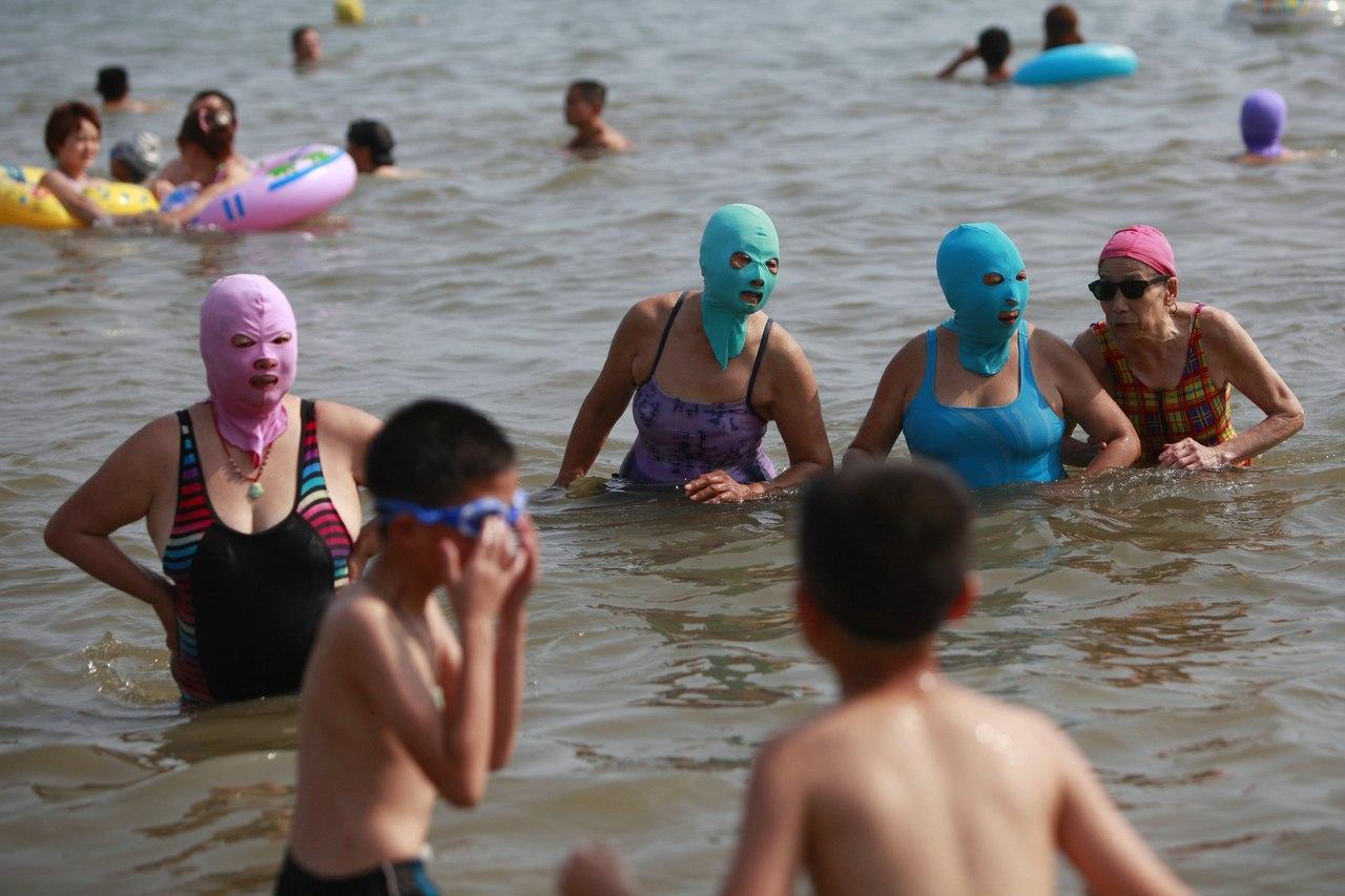 В чем ходят на пляжах турции фото