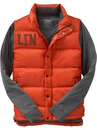 2. Men's Frost Free Quilted Vests Жилетка с толстовкой.  Size: S Color: Autumn Sweater $25.00.