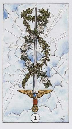 значение карты туз мечей