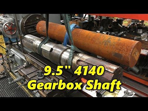 9.5 Inch 4140 Gearbox Shaft Part 1