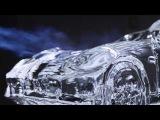Ледяной Porsche Panamera