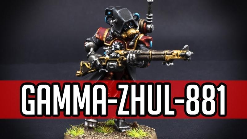 How to paint Kill Team Gamma Zhul 881 Skitarii Ranger