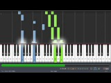 Reuben Kee - Reflections - Shenmue OC ReMix - Synthesia - Piano