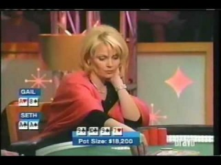 gail misreads the cards