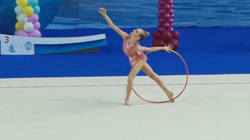 Polina Shmatko - Hoop 'Young Gymnasts 2015' АА (16.000)
