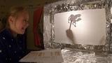 Pegasus legend in shadows