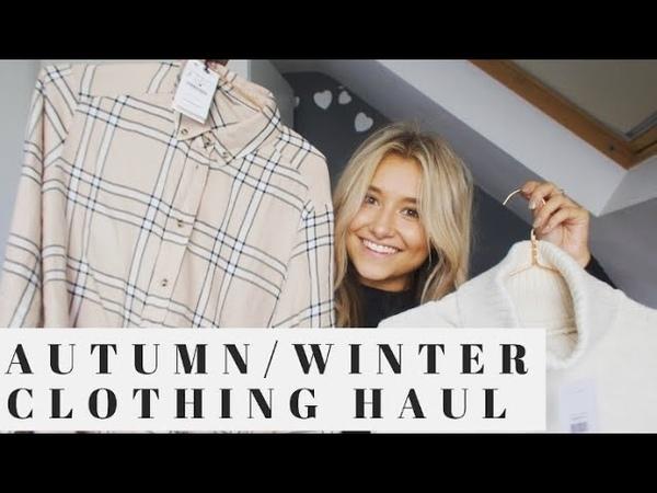 AUTUMNWINTER CLOTHING HAUL | TRY ON | TOPSHOP, ASOS, ZARA, HANOGRAM ETC | Millie-jayne