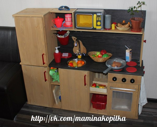 Детские кухни своими руками фото