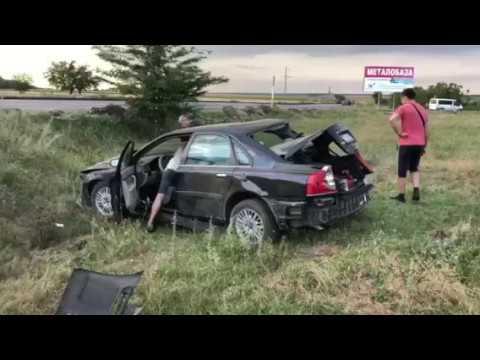 На трассе Одесса-Рени автомобиль слетел в кювет | Бессарабия INFORM
