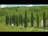 Bella Toscana. On the road from Siena to Pienza