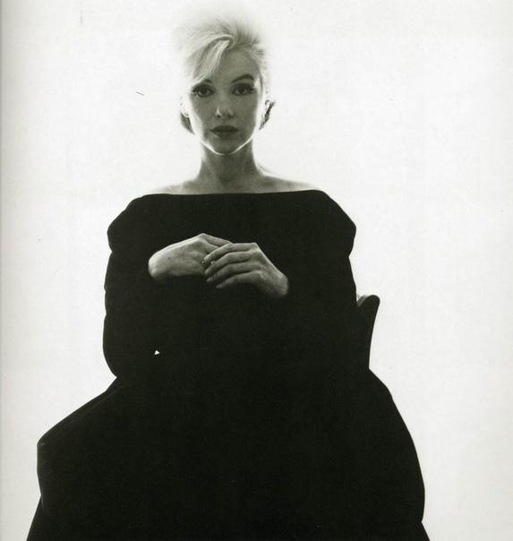 Последняя фотосессия Мэрилин Монро для Vogue в 1962 году.