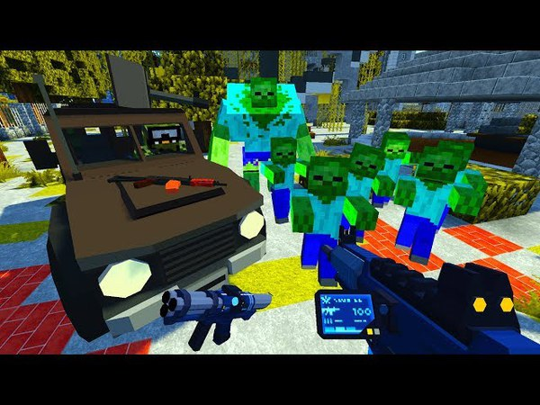 Зомби Мутант! Дикие Зомби! День 21. Зомби Апокалипсис в Майнкрафт! - (Minecraft - Сериал)