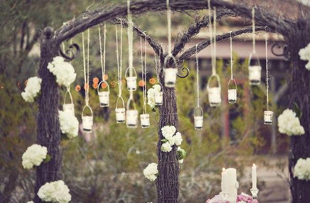 Садовый декор. Праздник в саду.