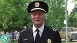 Награждение курсантов. Финальная сцена. Полицейская академия (1984) год.
