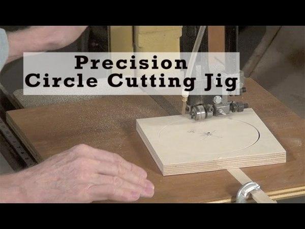 Precision Circle-Cutting Bandsaw Jig