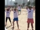 Партнеры нашей команды Успех Вместе на зарядке в Дубае 🌅 Мы выбираем здоровье успех путешествия Несём добро людям 💕