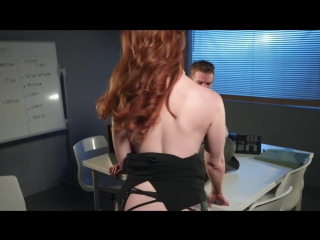Zara DuRose  Danny D [HD 720, Big Tits, Black Stockings, British, Innie Pussy, Feet, Skirt, Pale Skin, Redhead, Tattoo]