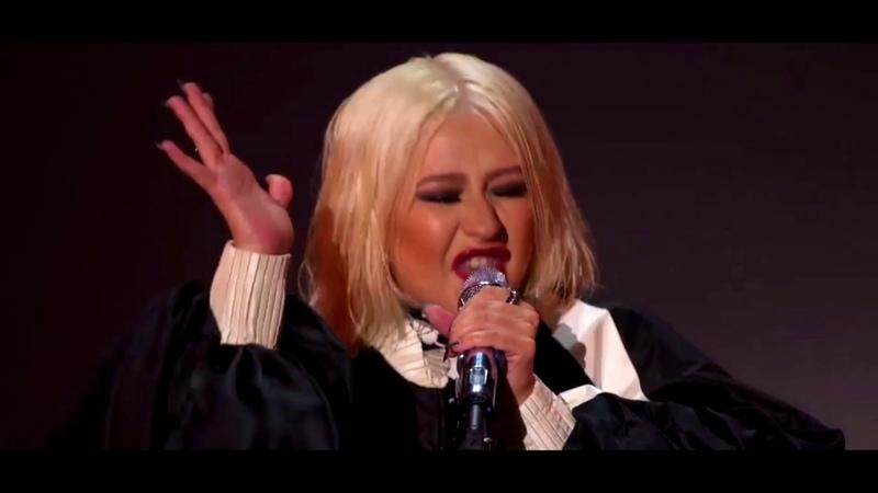 Christina Aguilera Fighter Live IHeartRadio Celebrating The Xperience 2019