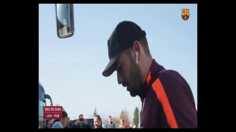 Desde dentro. Juventus vs FC Barcelona UCL