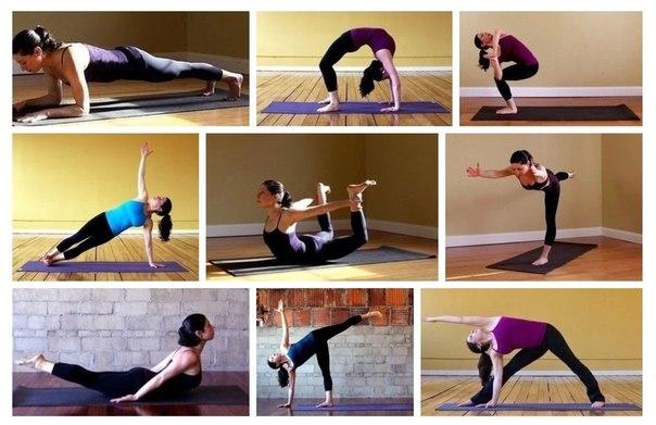 9 поз йоги для тонкой талии (1 фото) - картинка