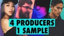 4 PRODUCERS FLIP THE SAME SAMPLE Episode 2