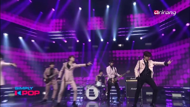 The East Light - Real Man @ Simply K-Pop 180316