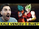 COMO ASSIM KALE VENCEU GOKU DB Super ep.100 (react)